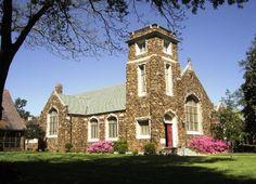 Holy Cross Episcopal Church, Paris, TX Paris Home, Anglican Church, Stone Barns, Paris Texas, Old Churches, Holy Cross, Place Of Worship, Steeple Chase, Texas Usa