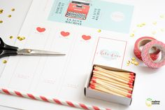 cadeau saint valentin Valentine Crafts, Valentines, Love Machine, Sweet Little Things, Matchbox Art, Free Frames, Craft Quotes, Diy Projects To Try, Craft Tutorials
