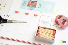 Máquina del amor, con imprimible gratuito para San Valentín
