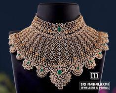 Fancy Jewellery, Gold Jewellery Design, Diamond Jewellery, Neck Choker, Wedding Jewelry Sets, Necklace Designs, Crystal Necklace, Chokers, Feel Unique