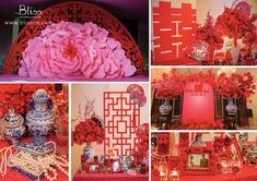 REAL WEDDING: VIVID CHINESE - Bliss Wedding Planner Red is one of the most common color theme for any Asian Wedding. However, in order to create the look of this Chinese night, it's another page. Beside the color, we had do some research about Chinese traditional Wedding, which of every little details have their own meanings, then combining those with the modern aspect to describe the image of our couple: young, energetic, and also traditionalistic.
