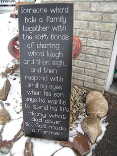 So god made a farmer extra large Sign 12x30 Primitive by Wildoaks, $48.00