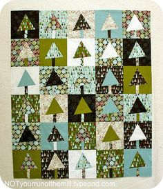 Quilted christmas tree skirt | better off thread…
