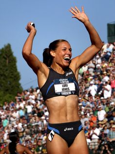 Lolo Jones, a great athlete and a great person
