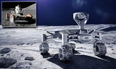 Plan to land rover on the moon to inspect Apollo 17's moon buggy