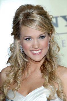 Marvelous How To Cut Bangs Like Carrie Underwood Bangs Cut Bangs And Short Hairstyles Gunalazisus
