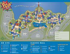 Disney's POP Century Resort Photo Gallery at Walt Disney World in Orlando Florida Disney Hotels, Disney World Resorts, Viaje A Disney World, Disney World Map, Disney World Planning, Disney Pop, Disney Dream, Disney Magic, Disney 2015