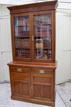 Antique Bookcase, Stores, China Cabinet, Bookcases, Antiques, House, Furniture, Website, Home Decor
