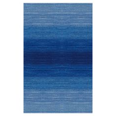 Anchor your living room seating group or define space in the den with this eye-catching wool rug, featuring an ombre motif for eye-catching appeal.