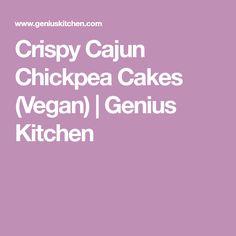 Crispy Cajun Chickpea Cakes (Vegan) | Genius Kitchen