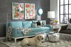 Jonathan Adler (love the couch)