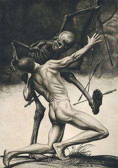 erebusmoroschaos:  Richard Muller - Death Struggle (1913)
