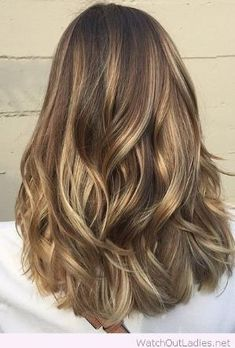 Wonderful light brunette balayage highlights by L'ame solaire