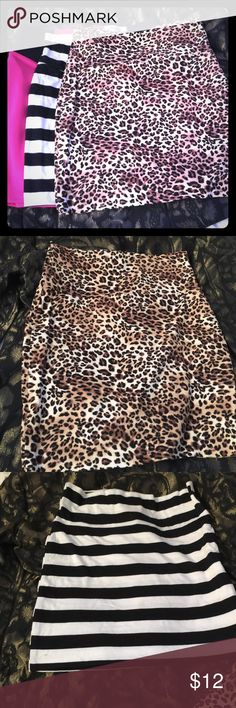 3 stretch mini skirt for $12 Mini skirt Skirts Mini
