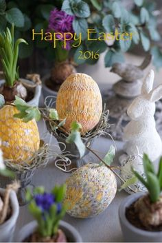 Smocked Easter Eggs 2016 by Smocking Corbeille. Photo by Hiroko@Flowery life