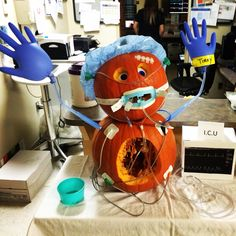Winner of hospital pumpkin carving contest ! !