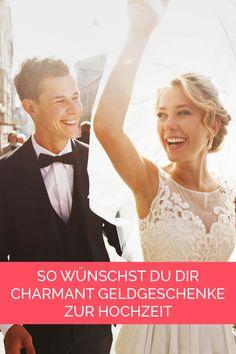 Wünscht ihr euch auch Geld statt Porzellan zur Hochzeit und sucht einen Weg, dies euren Gästen mitzuteilen? ... mehr ...