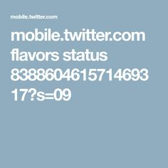 mobile.twitter.com flavors status 838860461571469317?s=09