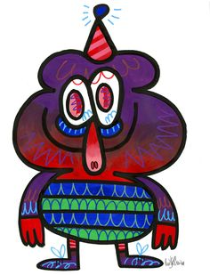 Illustrator: Jon Burgerman Project: New Characters Date: March 2015 Geometric 3d, Graffiti Lettering, Cute Faces, Street Artists, Cartoon Art, Urban Art, Doodle Art, Contemporary Artists, Digital Illustration