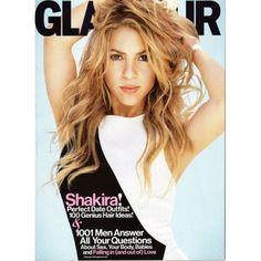 Glamour Magazine | Shakira | Perfect Date Outfits | 100 Genius Hair Ideas | February 2014