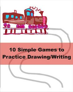 Your Therapy Source - www.YourTherapySource.com: 10 Simple Games to Practice Drawing and Handwriting