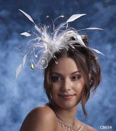 Wedding Tiaras, Tiaras UK, Wedding Headdresses, Feather Headdresses - All Things Bride & Beautiful - Cherlaan