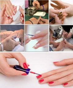 How To Ly Acrylic Nails At Home