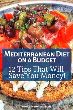 Diet on a Budget: 12 Tips That Wil.The Mediterranean Diet on a Budget: 12 Tips That Wil. A flavorful and veggie packed lunch in the amount of time it takes to cook quinoa! The Mediterranean Diet on a Budget: 12 Tips That Will Save you Money Medditeranean Diet, Med Diet, Diet Food List, Diet And Nutrition, Diet Tips, Diet Foods, Cleanse Diet, Food Lists, Diet Detox
