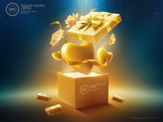 Print advertisement created by Technowireless, Egypt for Bullion Trading Center, within the category: Retail Services. Ads Creative, Creative Posters, Creative Advertising, Advertising Design, Promo Gifts, Christmas Ad, L'oréal Paris, Social Media Design, Ad Design