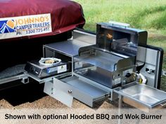 "2012 Camper Trailer of the Year - the ""Evolution"" Off Road Camping, Jeep Camping, Trailer Tent, Camper Trailers, Travel Trailers, Jeep Pickup, Pickup Camper, Travel Camper, Expedition Trailer"