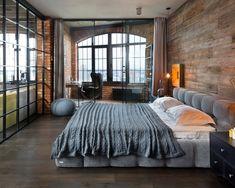 18 Urban Loft Style Hálószoba Design Ötletek