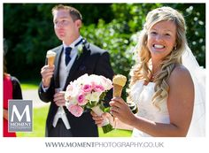 Ice creams at Adam & Helen's wedding at Gants Mill, Bruton, Somerset. www.gantsmill.co.uk