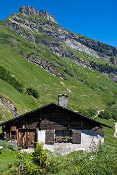 Mountain Home - Lac de Roselend, Rhone-Alpes, France