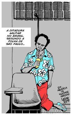 HISTÓRIA VIVA: Regime Militar no Brasil em Charges