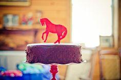 Cowboy farm them birthday party