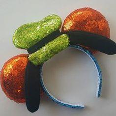 Goofy Mickey Ears #diy #mickeyears #disney #minnieears #disneyears #craft #disneycraft