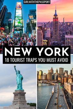 Check out 18 of the WORST tourist traps in NYC. Find out what not to do in NYC so that you can avoid these places like the plague. Because trust me, not one wants to wait hours in line, only to spend their hard earned money on something that is just mediocre. Also check out my picks for alternative things to do in NYC that will save you both time in money. New York Travel | New York City Travel | New York City Travel Tips | NYC Itinerary | NYC Travel Tips #NYCGuide #TravelNYC #VisitNYC… New York City Travel, New York Vacation, Vacation Spots, New York Travel Guide, Visit New York City, Travel Usa, Travel Tips, Solo Travel, Tourist Trap