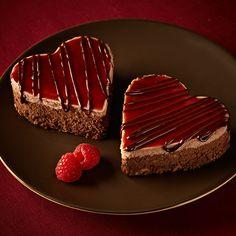 Ghirardelli Baking: Chocolate Raspberry Cheesecake Hearts Recipe  Impressive Results Worth Sharing. Bake with Ghirardelli.