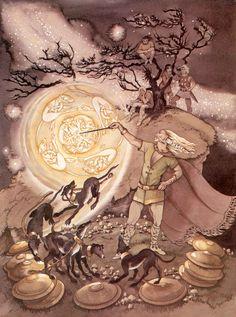 In Irish mythology, Tuireann (Old Irish: Tuirenn or Tuirill Biccreo) was the… Celtic Tree, Irish Celtic, Myth Stories, Myths & Monsters, Irish Mythology, Legends And Myths, Fandoms, Gods And Goddesses, Deities