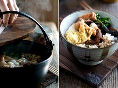 Hot Pot Sukiyaki Recipe | Japanese Nabe Hot Pot Sukiyaki with beef and vegetables