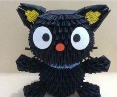 3D Origami - Choco Cat