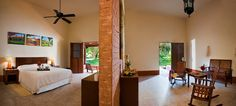Majestc suite of 73 mt2. Private garden with plunge pool beneath the shadow of the trees.