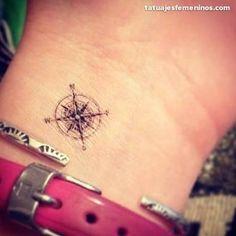 Resultado de imagen para imagenes de tatuajes de brujulas