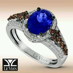 chocolatierr le tw w macys rose in lyst for ring ct created gold chocolatier and diamond tanzanite vian jewelry r t