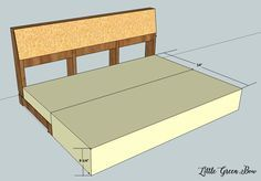 Learn how to make your own DIY couch with these step-by-step plans from Little Green Bow. Crafting a life you LOVE.