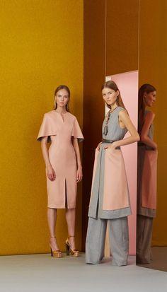 Lela Rose Resort 2017 fashion show - Pre-Spring-Summer 2017 collection, shown June 2016