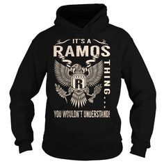 Its a RAMOS Thing You Wouldnt Understand - Last Name, Surname T-Shirt (Eagle)
