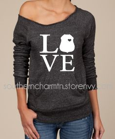Law Enforcement Love LEO SB Slouchy Sweater from Southern Charm