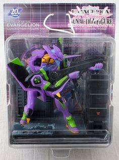 Evangelion EVA01 Wind-Up Gun Action Figure SEGA JAPAN ANIME MANGA GAINAX