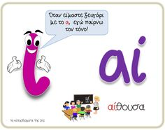 Greek Language, How To Stay Motivated, Grammar, Activities For Kids, Classroom, Teacher, Motivation, Education, Learning